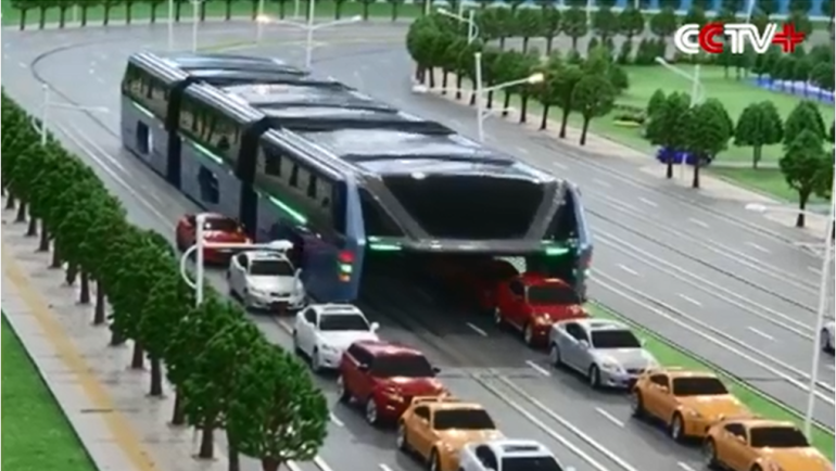 Transit Elevated Bus